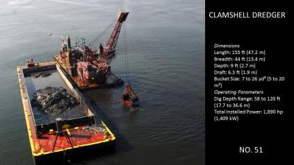 Clamshell Dredge